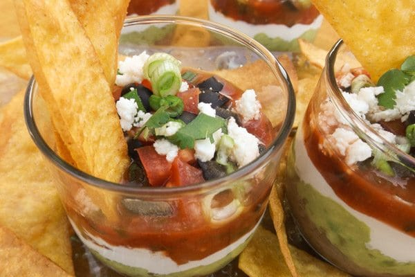 Seven Layer Bean Dip - Mexican Appetizers and More!