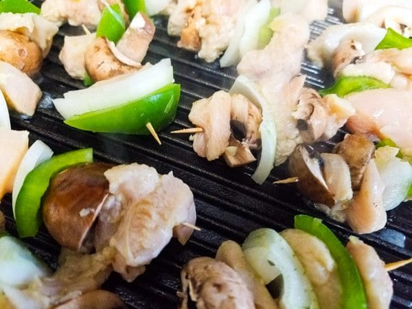 Mini Serrano Chicken Kabobs