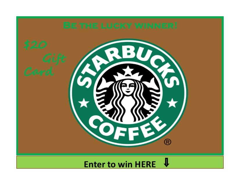 Starbucks Giveaway from Mexican Appetizers and More
