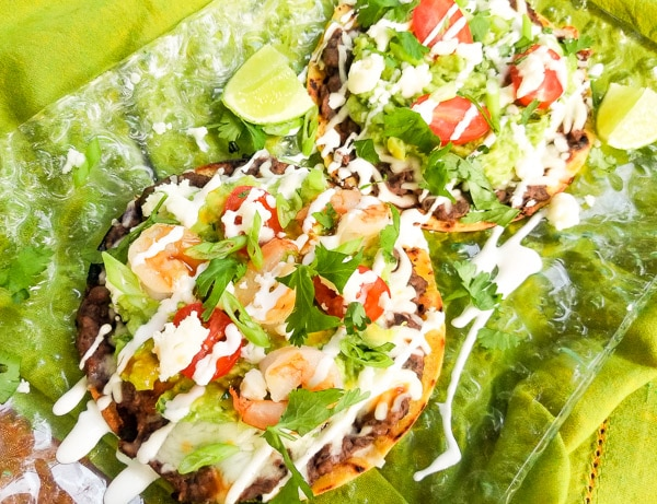 Smoky Black Bean Avocado Tostadas | Mexican Appetizers and ...
