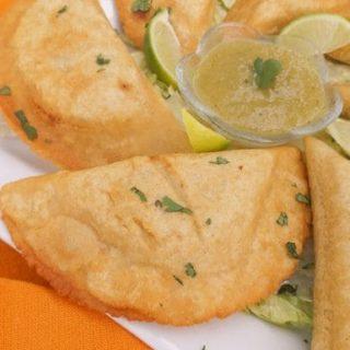 Mexican Empanadas with Green Sauce