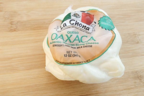 Oaxaca Cheese for Molletes Mexicanos