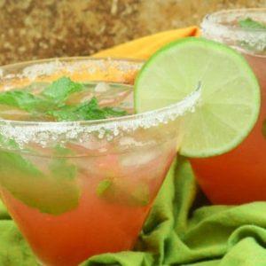 Watermelon Tequila Mojito