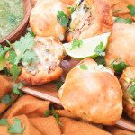 Cheesy Chicken Poblano Panecillos
