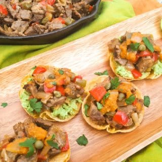 Steak Tortilla Cups