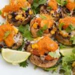 Savory Vegetarian Mushrooms