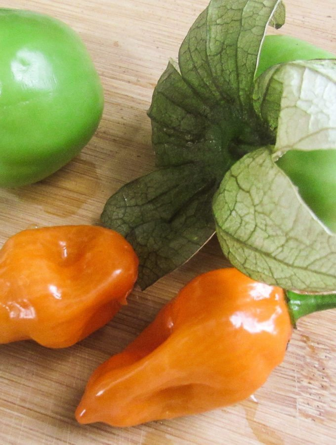 Habanero Tomatillo Salsa
