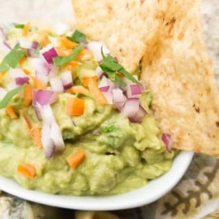 Authentic Mexican Guacamole Recipe