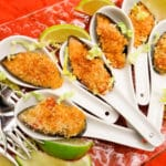 Easy Mexican Asian Baked Mussels