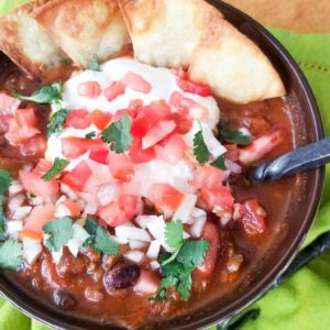 Ground Venison Chili
