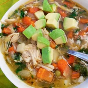 Low Carb Chicken Vegetable Soup