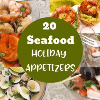 Get inspired this holiday season with these 20 Delicious Mexican Inspired Seafood Holiday Appetizers.  Find delicious clam, shrimp, calamari, lobster, mussels, scallop recipes and savory seafood soups to share along with your love ones this holiday season.  These recipes are all hyper-delicious and easy to make.  Enjoy a stress free holiday with these amazing Mexican inspired seafood appetizers.