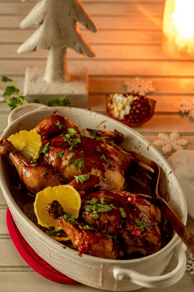 Festive Mexican Cornish Game Hens-Festive Season is Not Over