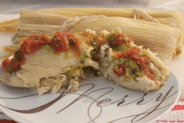 Chicken Salsa Verde Tamales-Festive Season is Not Over