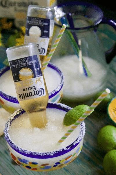 CoronaRita Frozen Margarita-Festive Season is Not Over