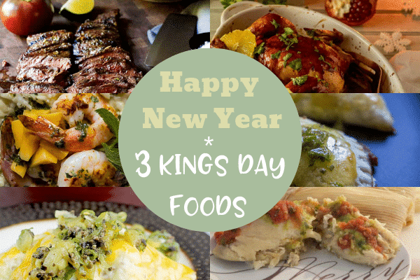 Happy New Year + 3 Kings Day Foods-Festive Season is Not Over