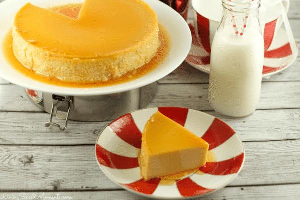 Eggnog Flan Recipe-Festive Season is Not Over