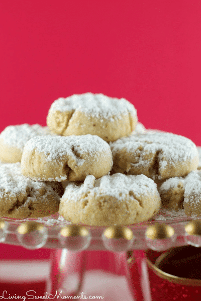 Vegan Walnut Snowball Cookies-Festive Season is Not Over