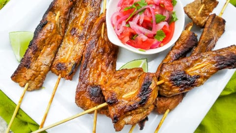Chuzos de Carne   Mexican Appetizers and More!