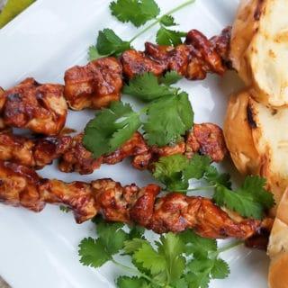Pinchos de Pollo (Puerto Rican Chicken Skewers)