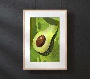Avocado Collection Kitchen Decor
