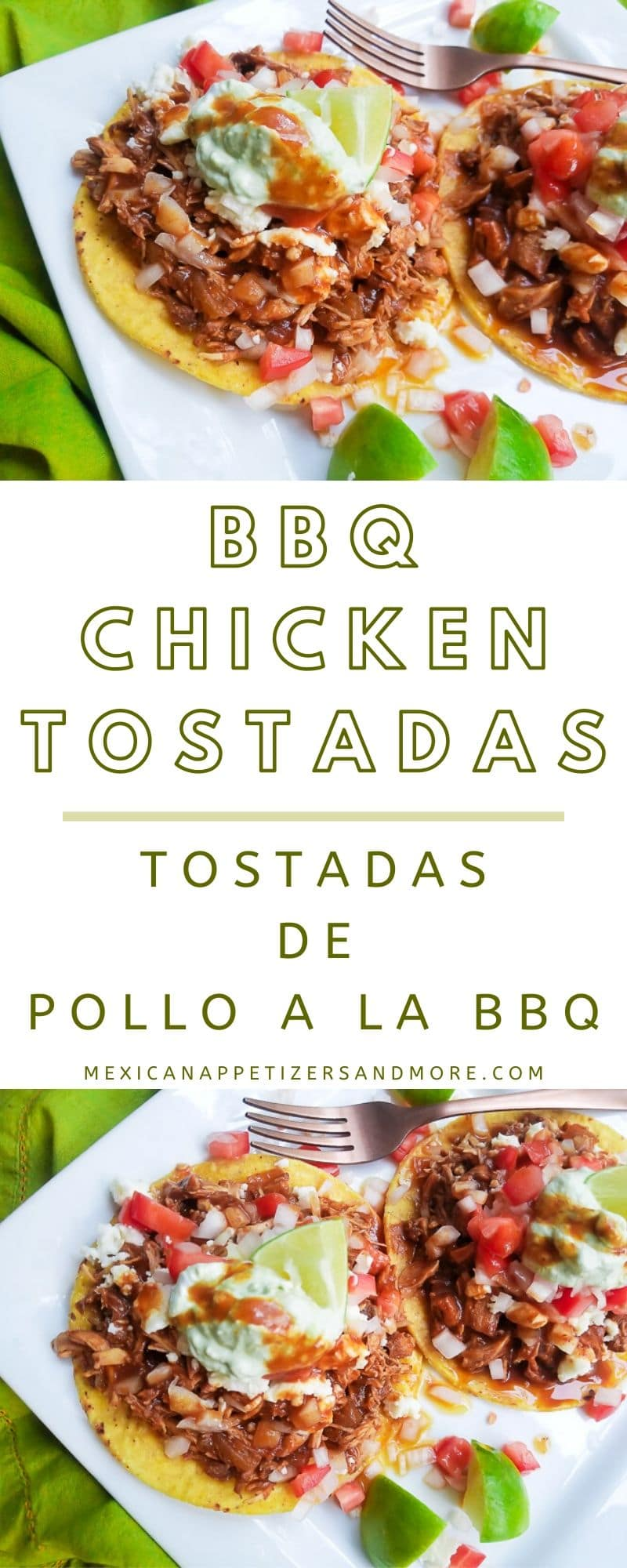 These BBQ Chicken Tostadas will become a family favorite especially for the kiddos! Looking for a \