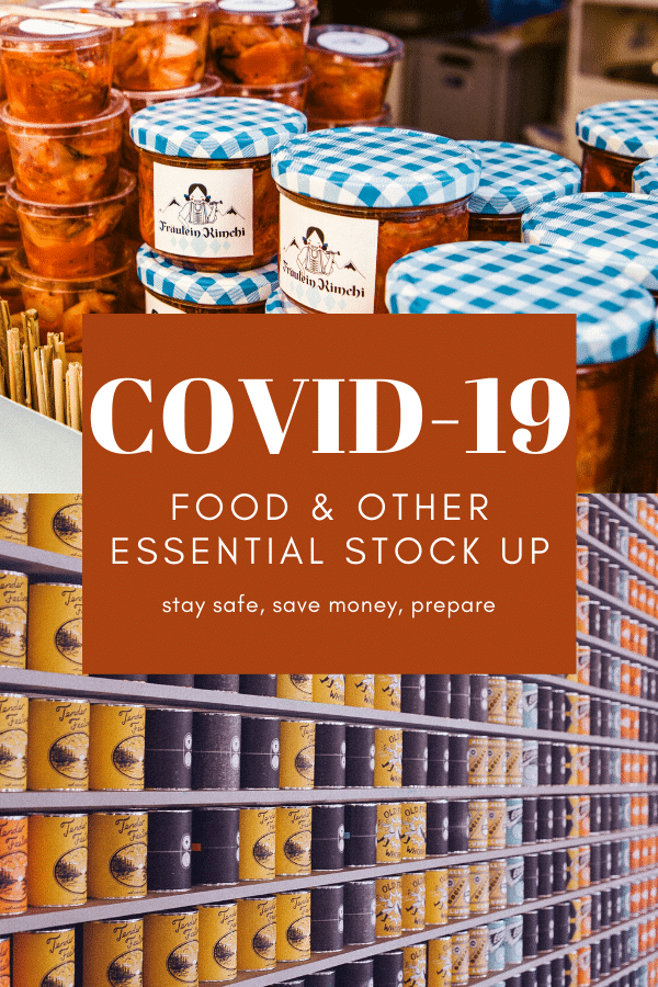 Covid-19 Food Stock Up