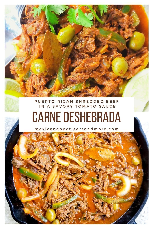 Carne Deshebrada (Puerto Rican Shredded Beef)