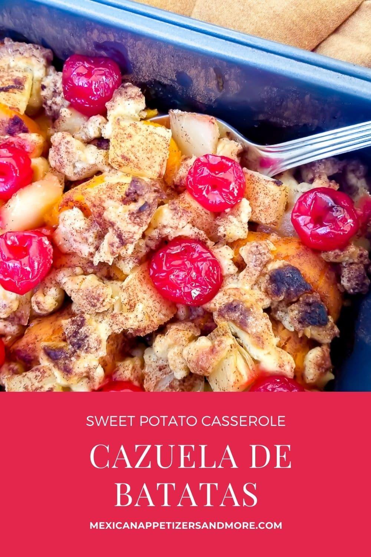 Sweet Potato Casserole (Cazuela de Batatas)