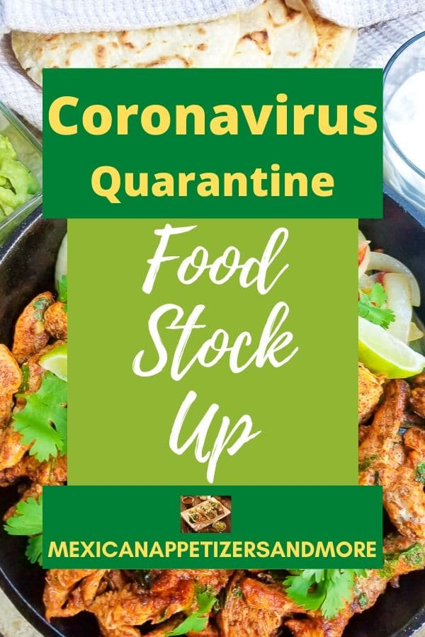 Coronavirus Food Stock Up Guide