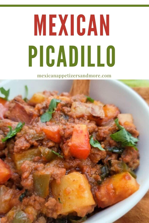 Authentic Mexican Picadillo Recipe