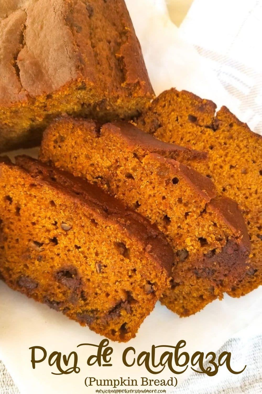 Pan de Calabaza (Pumpkin Bread)