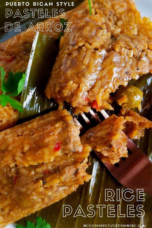 Pasteles de Arroz (Rice Pasteles)