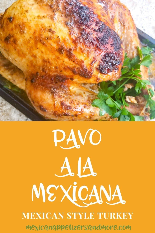 Pavo a la Mexicana (Mexican Style Turkey)