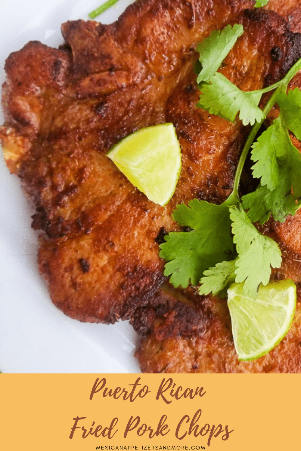 Puerto Rican Fried Pork Chops