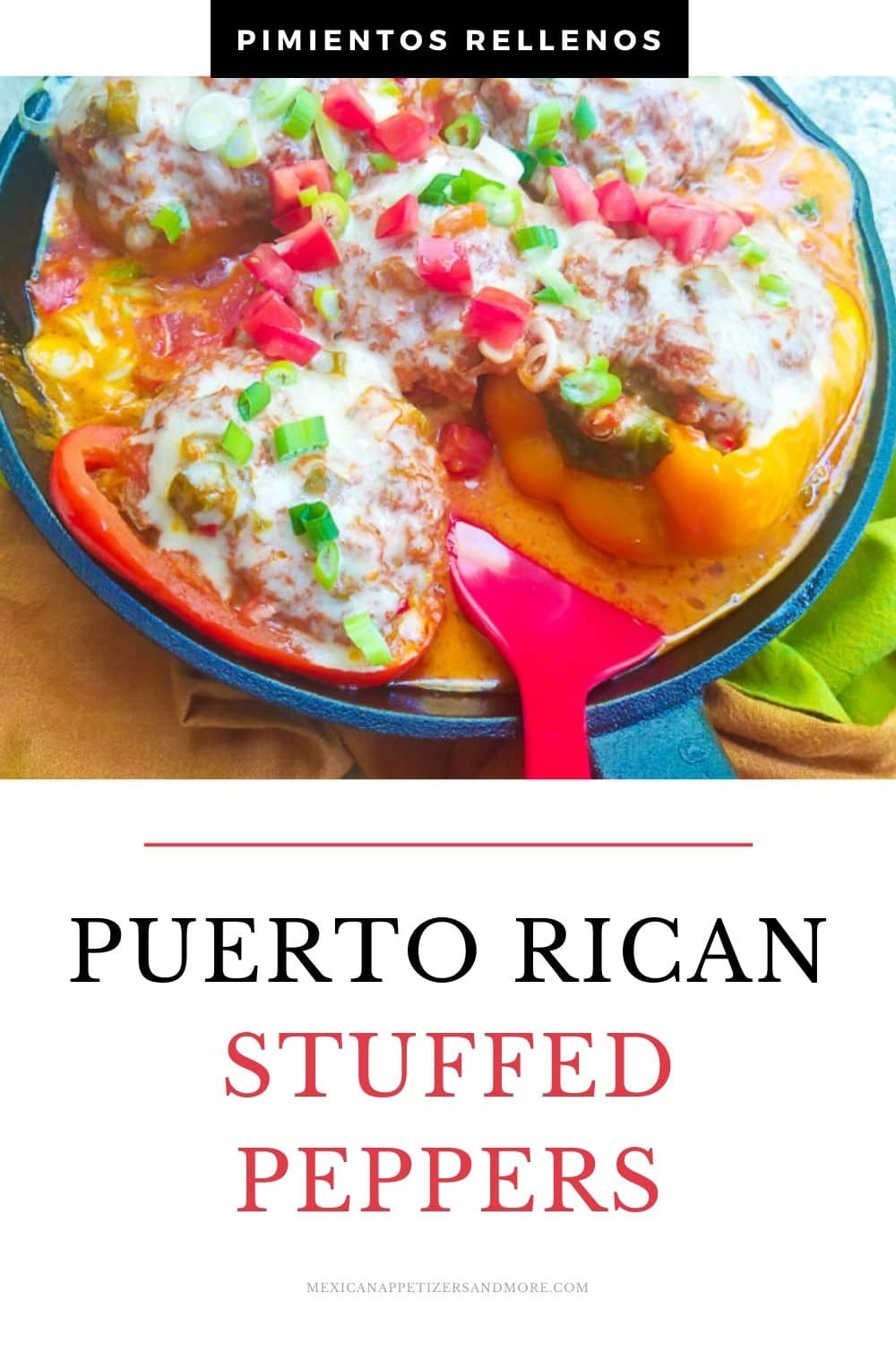 Puerto Rican Stuffed Peppers